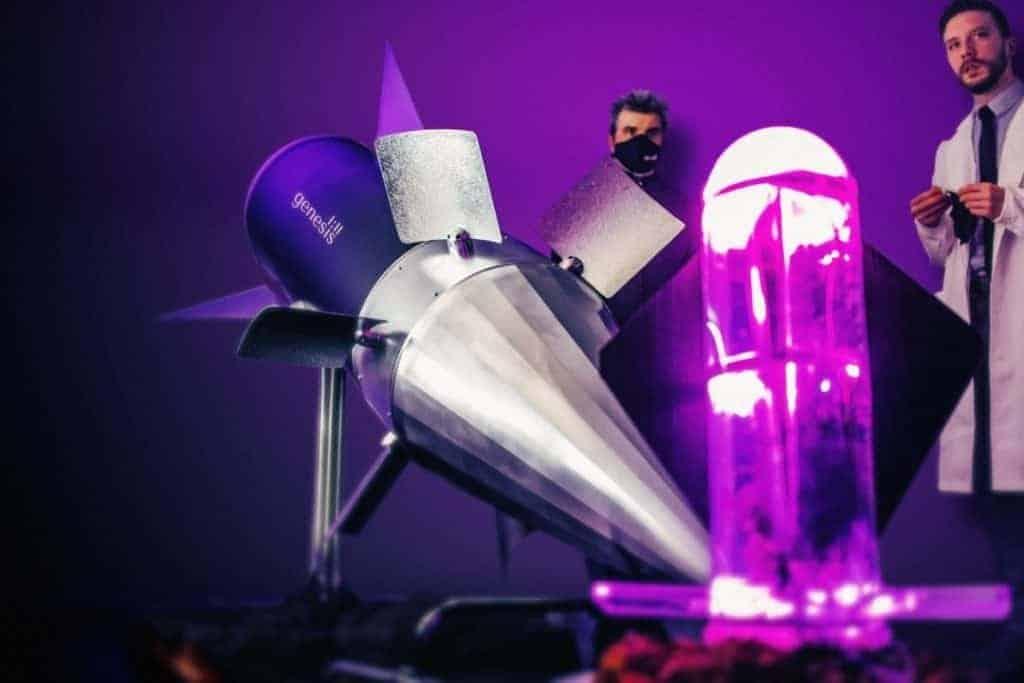Genesis 1-11™-The Martian Rocket Capsule