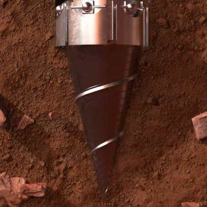Finalizing drill bit (nose) of the Rocket Capsule