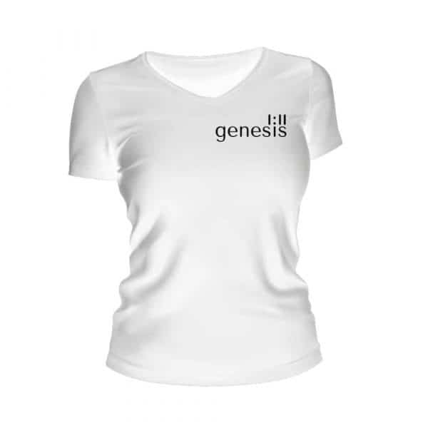 Women's Genesis 1:11 T-Shirt White
